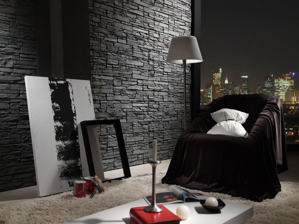Paneles decorativos imitacion piedra panel piedra laja for Piedras para decorar paredes