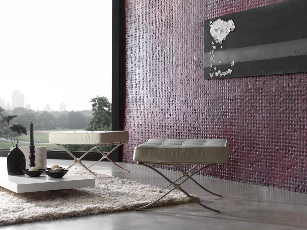 Nuevos materiales en paneles decorativos la innovacion a - Materiales para paredes ...
