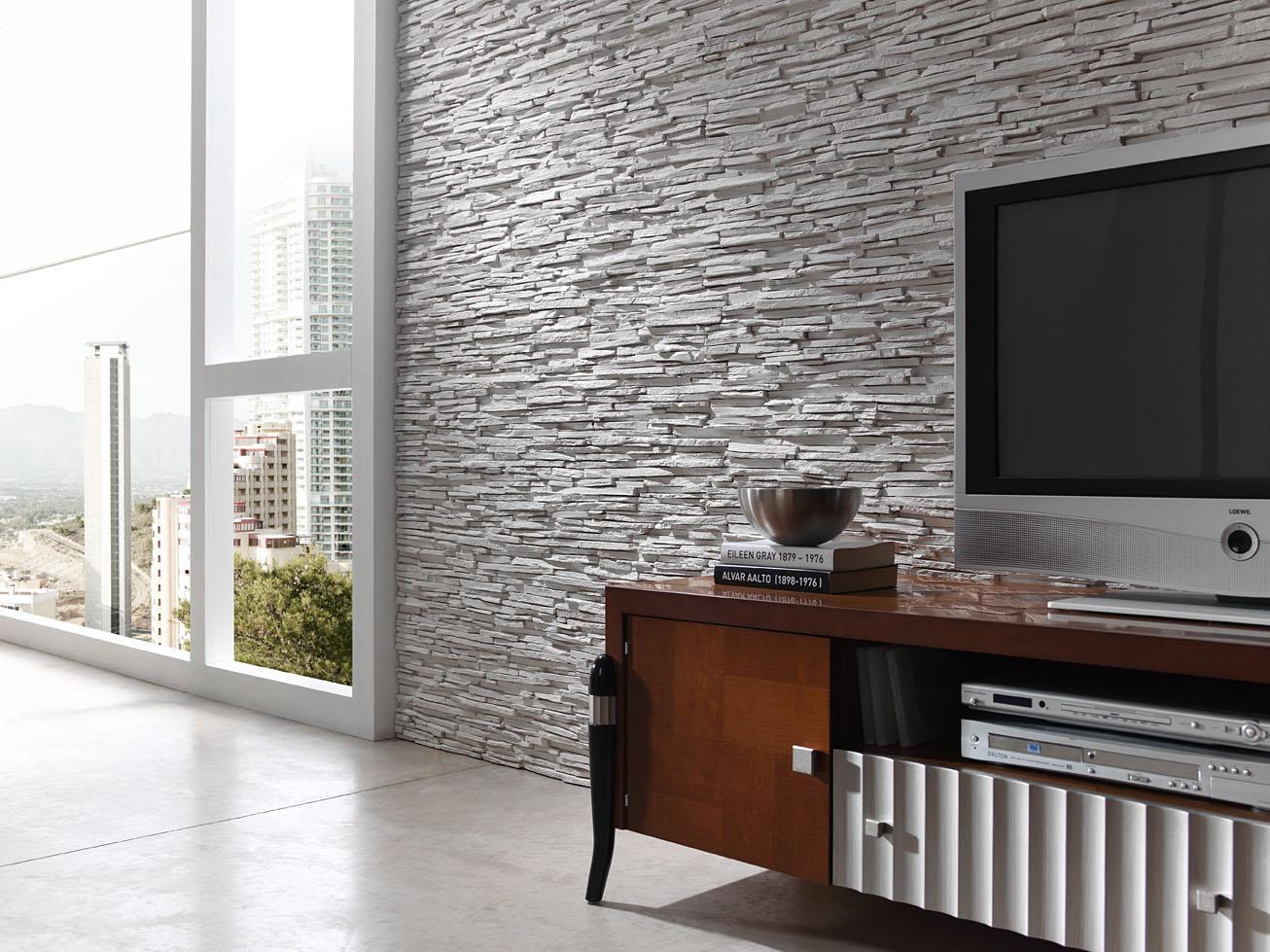 Panel piedra pizarra alepes - Piedras decorativas para pared ...