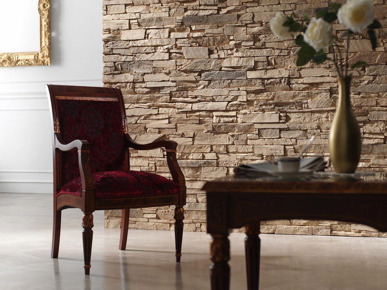 Papeles decorativos y decorative walls - Paredes de piedra artificial ...