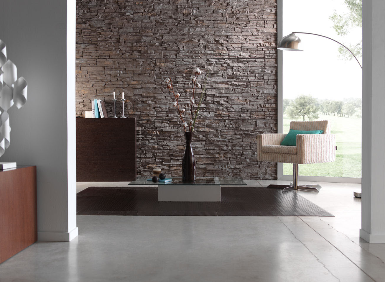 Paneles decorativos classic for Piedra interior